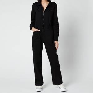 L.F Markey Women's Danny Longsleeve Boilersuit - Black
