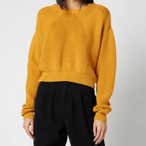 L.F Markey Women's Julius Knitted Jumper - Saffron