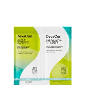 DevaCurl No Poo Decadence and One Condition Decadence 57ml