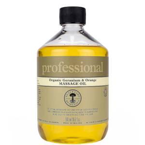 Professional Range Geranium and Orange Massage Oil 500ml