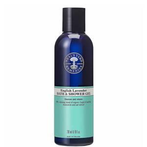 English Lavender Bath and Shower Gel 200ml