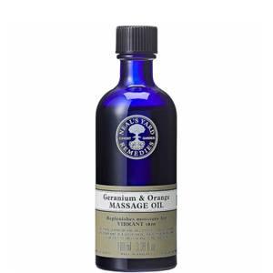 Geranium and Orange Massage Oil 100ml