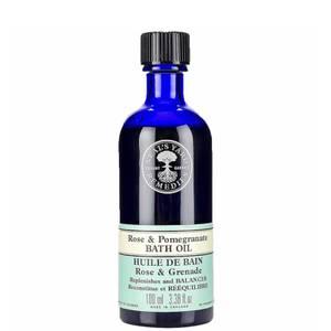 Rose and Pomegranate Bath Oil 100ml