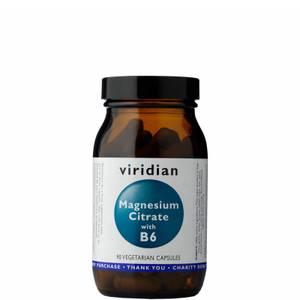 Magnesium Citrate with B6 Veg Caps - 90 Capsules