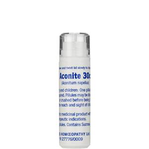 Aconite 30c Helios Homoeopathic Remedy - 100 Pills