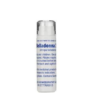 Belladonna 30C Helios Homoeopathic Remedy - 100 Pills