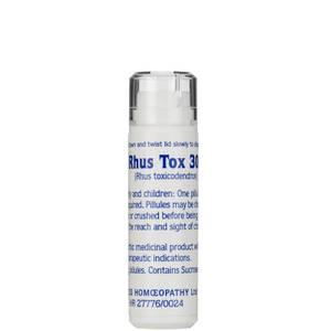 Rhus Tox 30c Helios Homoeopathic Remedy - 100 Pills