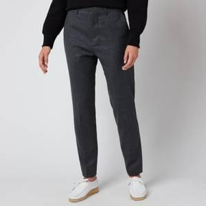 AMI Women's Slim Trousers - Grey