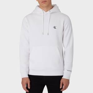 CK Jeans Men's Essential Regular Hoodie - Bright White