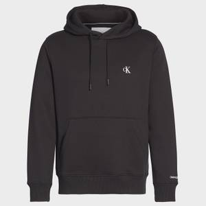 CK Jeans Men's Essential Regular Hoodie - CK Black