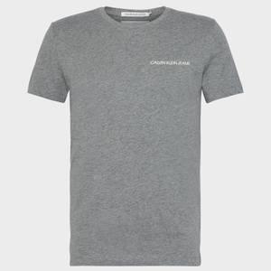 CK Jeans Men's Institutional Logo T-Shirt - Grey Heather