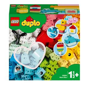 LEGO Duplo Heart Box Building Toy (10909)