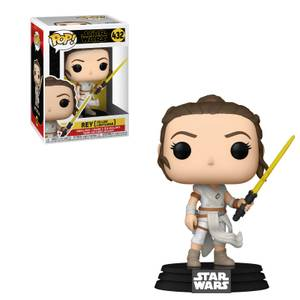 POP Star Wars: SWEp9- Rey con  Yellow Saber