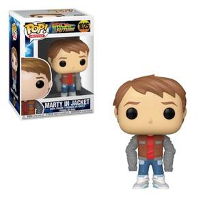 Back to the Future Marty McFly Metallic Loose Jacket EXC Pop! Vinyl