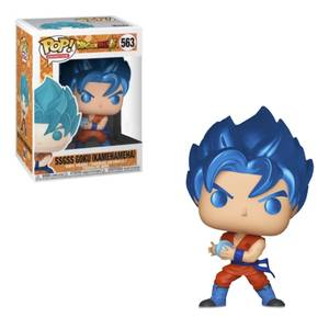 Dragon Ball Super Super Saiyan Goku with Kamehameha Metallic EXC Funko Pop! Vinyl