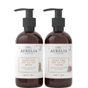 Aurelia London Sleep Time Top to Toe Wash and Cream Set 240ml