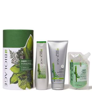 Biolage FiberStrong Trio Gift Set Collection for Damaged Hair