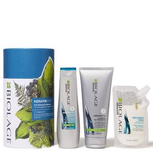 Biolage KeratinDose Trio Gift Set Collection for Over-Processed Hair
