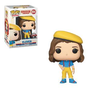 Stranger Things Eleven Yellow Outfit EXC Funko Pop! Vinyl