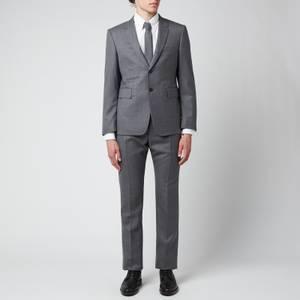 Thom Browne Men's Classic Twill Super 120 Suit - Medium Grey