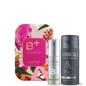 asap B+ Liquid Platinum Serum Celebration Pack