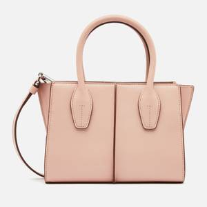 Tod's Women's Mini Shopping Tote Bag - Rosa Kiss