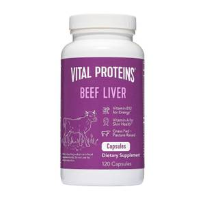 Grass Fed Beef Liver - 120 Capsules
