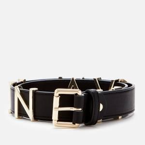 Valentino Bags 女士Emma 冬季腰带-黑色