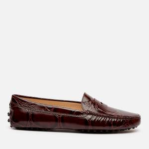Tod's Women's Gommini Mocassins - Brown