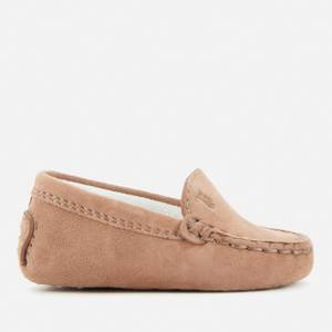 Tod's Babies' Suede Loafers - Beige