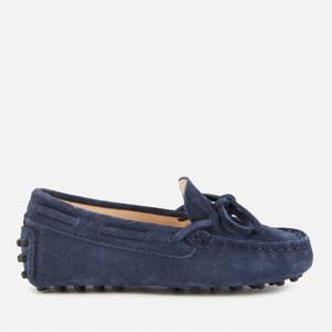 Tod's Toddlers' Suede Loafers - Navy