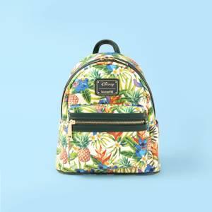Loungefly Disney Lilo And Stitch Pineapple Print Aop Mini Backpack - VeryNeko Exclusive