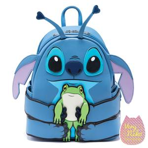 Loungefly Disney Stitch Hug Frog Mini Backpack - VeryNeko Exclusive