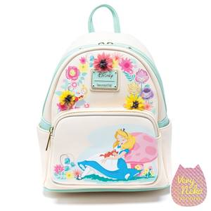 Loungefly Disney Alice Garden Flowers Mini Backpack - VeryNeko Exclusive