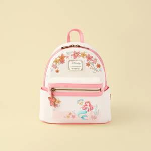Loungefly Disney The Little Mermaid Floral Mini Backpack - VeryNeko Exclusive