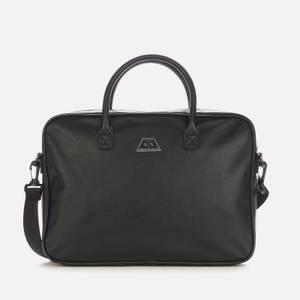 Armani Exchange Men's Branded Briefcase - Black