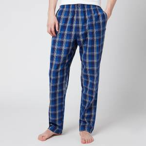 Calvin Klein Men's Sleep Pants - Plaid Purple Night