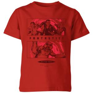 Doctor Who 9th Doctor Kinder T-Shirt - Rot