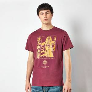 Doctor Who Fourth Doctor Men's T-Shirt - Burgundy