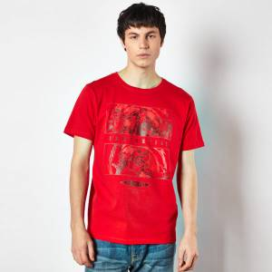 Doctor Who Ninth Doctor Men's T-Shirt - Red