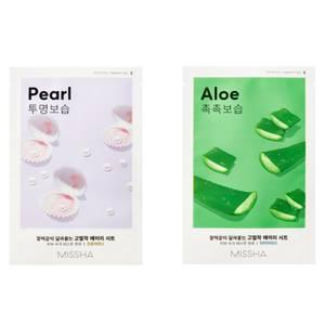 MISSHA Airy Fit Sheetmask Aloe / Pearl