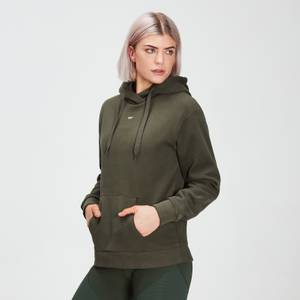 MP Women's Essentials Hoodie with Kangaroo Pocket Dark Olive