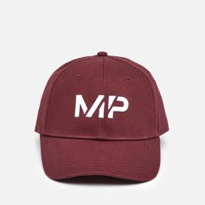 Mp Essentials Baseball Cap Washed Oxblood
