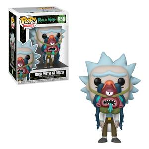 Rick and Morty Rick with Glorzo Pop! Vinyl Figure