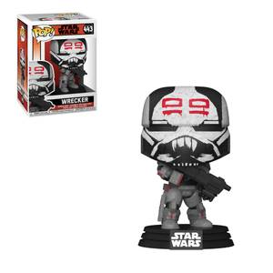 Star Wars Bad Batch Wrecker Figura Funko Pop! Vinyl