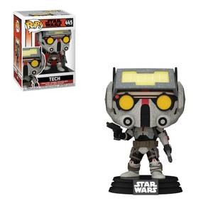 Star Wars Bad Batch Tech Figura Funko Pop! Vinyl