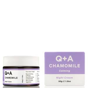 Q+A Chamomile Night Cream 50g