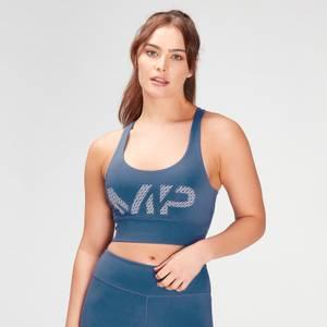 MP Women's Essentials Printed Training Bra - Pilot Blue