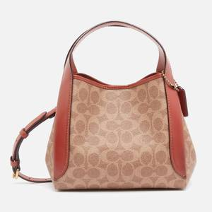 Coach Women's Signature Hadley Hobo Bag 21 - Tan Rust