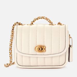 Coach Women's Madison Shoulder Bag 16 - Chalk